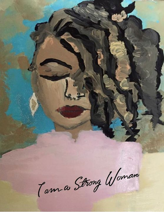 STRONG WOMAN - Camryns Creations