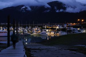 Skagway's Small Boat Harbor