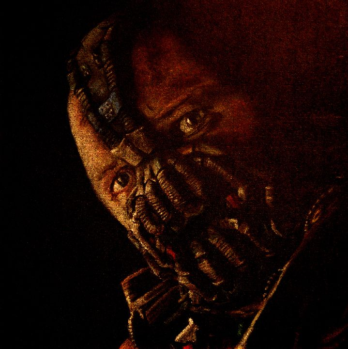 Enhanced Tom Hardy as Bane - Void Creations