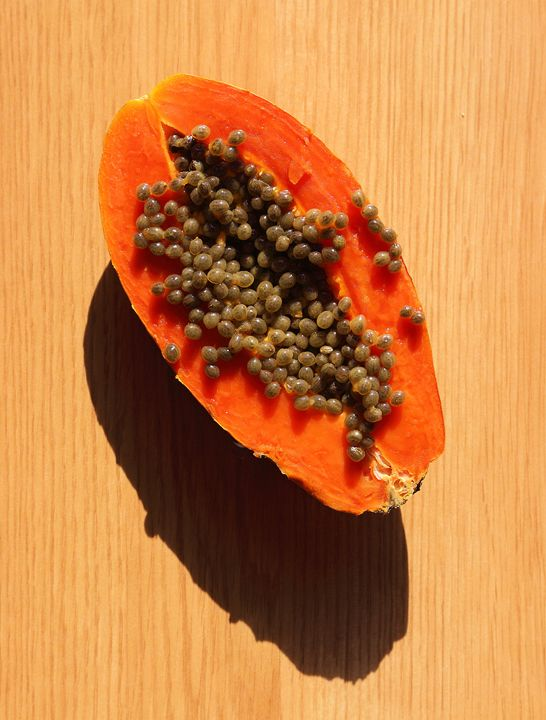 Papaya - Fine Art by Viktor Savchenko
