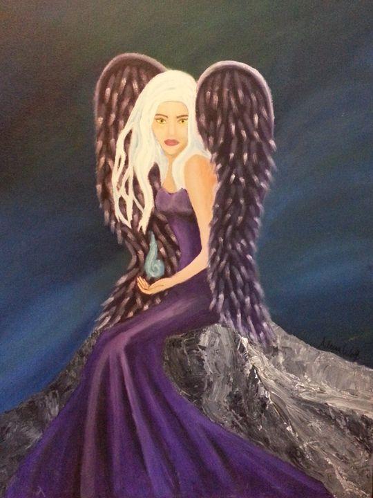 Angel in Purple - Wolf