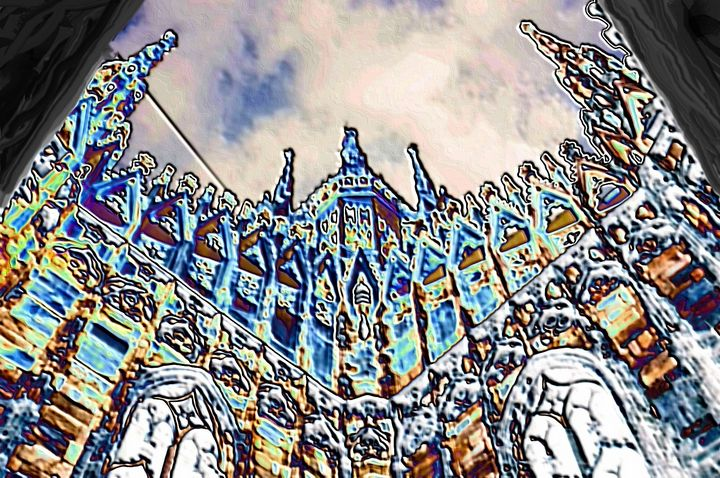 Church in milan Italy - Rene art
