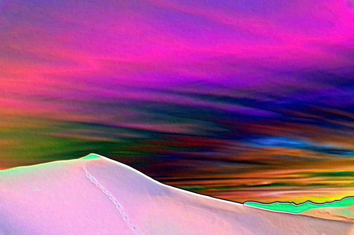 Sahara desert nr 7 - Rene art