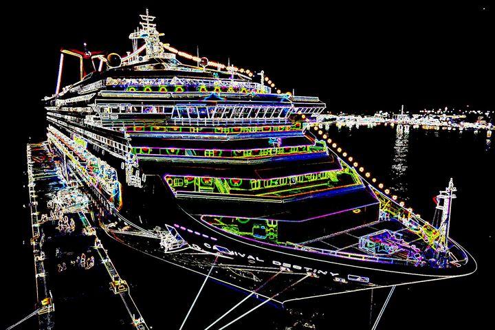 Cruiseship - Rene art