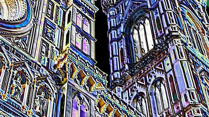 Church in Florence - Rene art