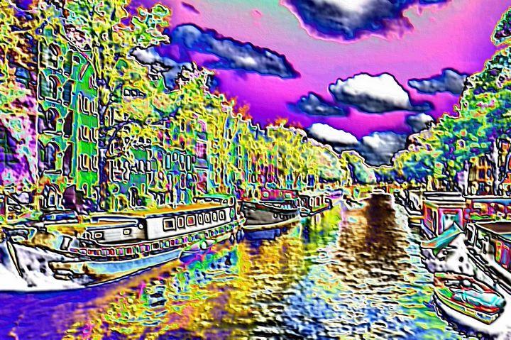 Dutch canal - Rene art