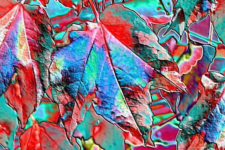 Digital art leaves - Rene art