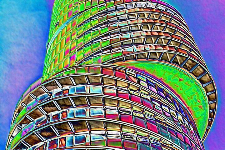 German modern  architecture - Rene art