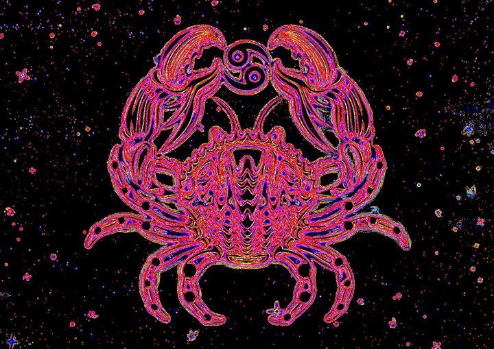 Cancer zodiac sign - Rene art