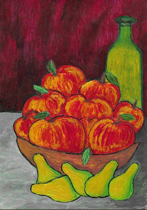 Fruit still life - Rene art