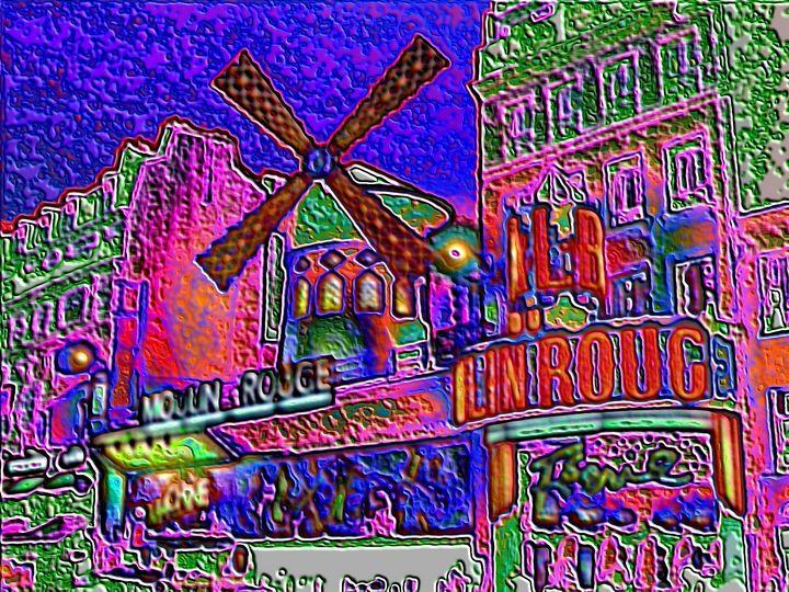 Moulinrouge Paris - Rene art