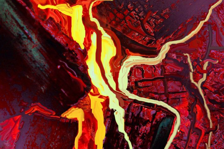 The fire place - Rene art