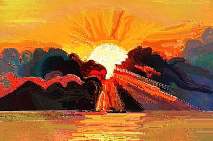 Let the sunshine - Rene art