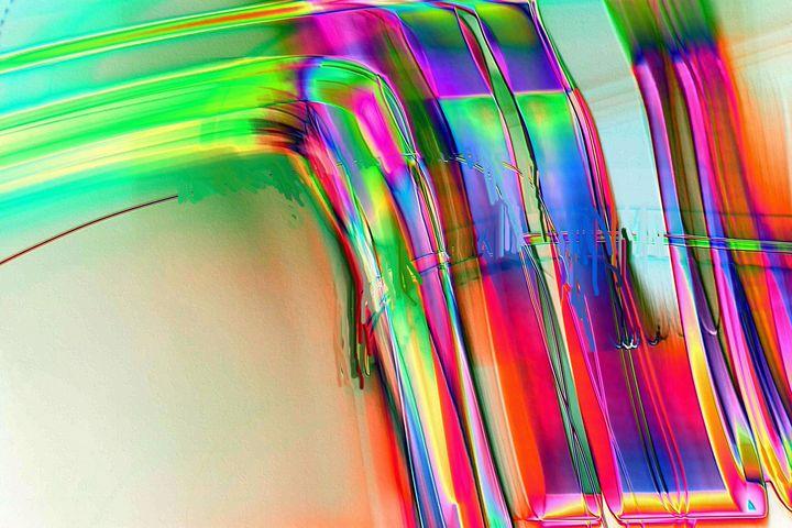 Abstract digital art patterns nr 245 - Rene art