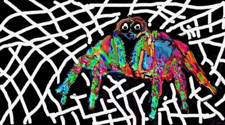 Spider nr 5 - Rene art