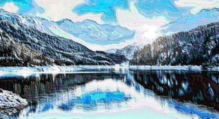 The Swiss alps - Rene art