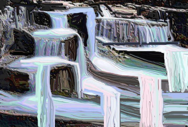Waterfall nr 44 - Rene art