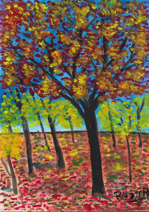 Autumn in Holland - Rene art