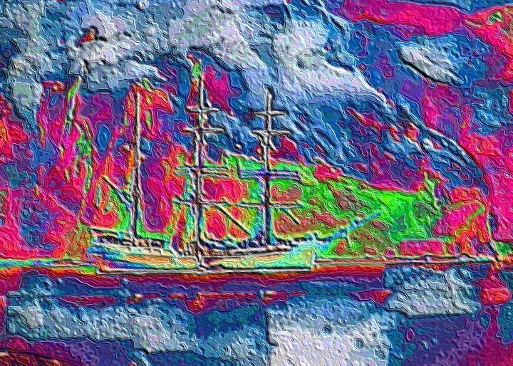 Sailboat - Rene art