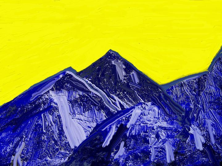 Yellow sky - Rene art