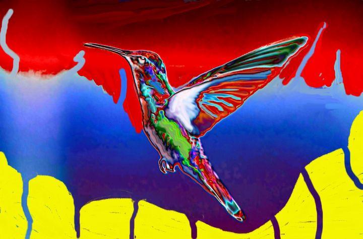 Hummingbird - Rene art