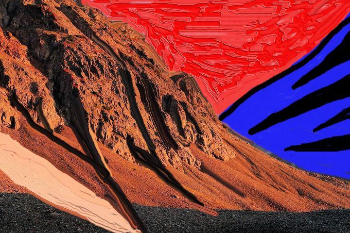 Mountains nr 228 - Rene art