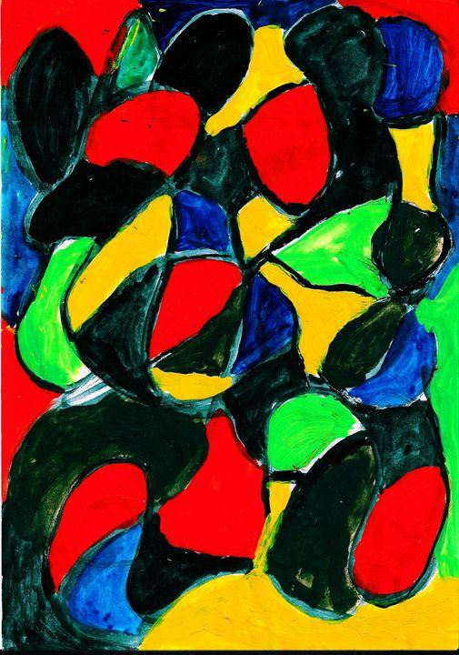 Color explotion - Rene art