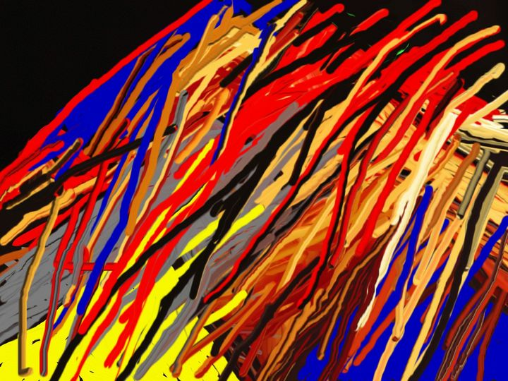 Colors of the jungle - Rene art