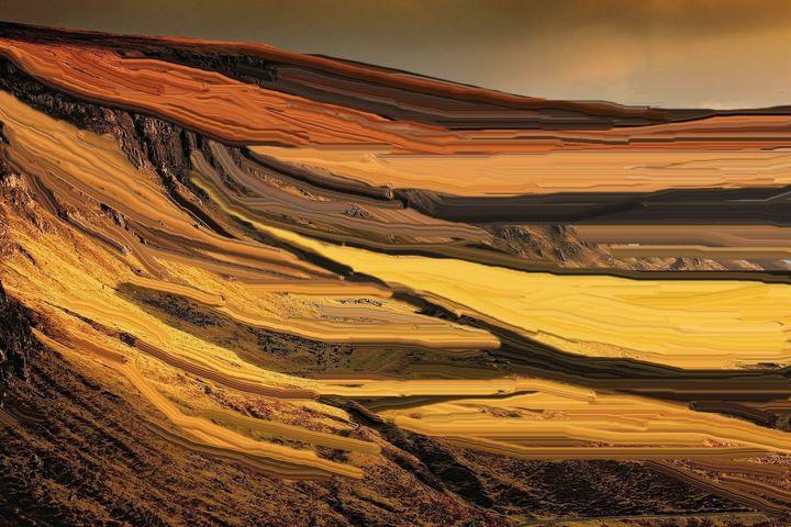 The sahara desert nr 7 - Rene art