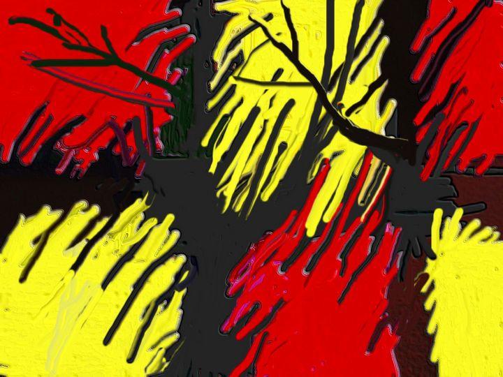 Sunshine in the garden nr 2 - Rene art