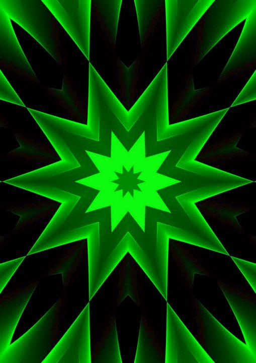 Green star - Rene art
