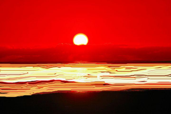 Sunset nr 12 - Rene art