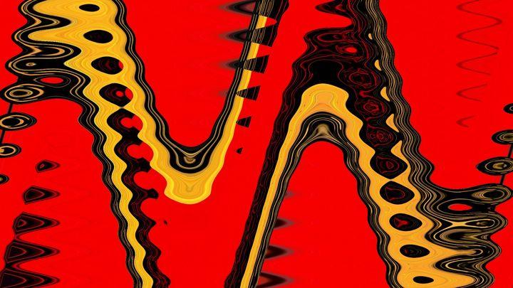 The golden snake - Rene art