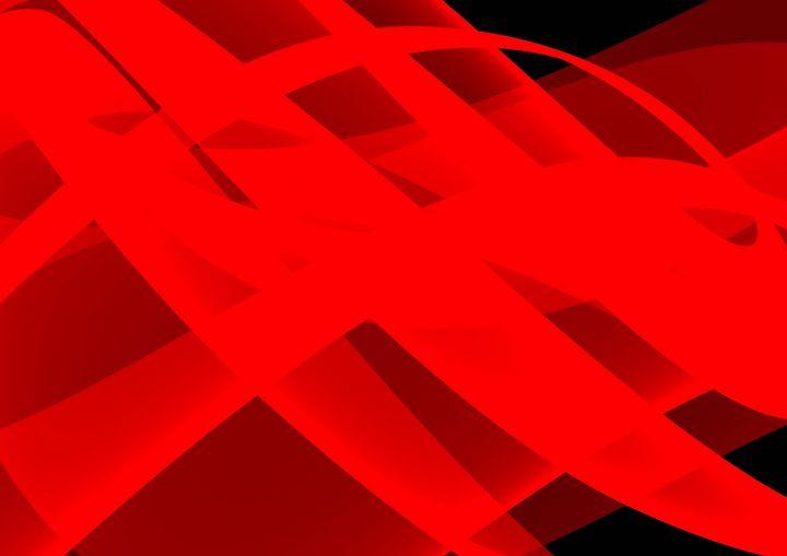 Just red ribbons - Rene art