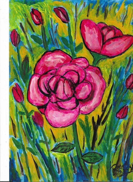 wild flowers nr 3 - Rene art