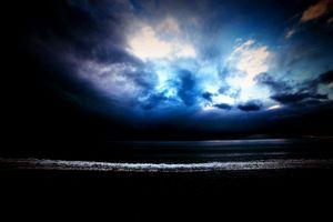 Clouds on the Dutch coast nr 1