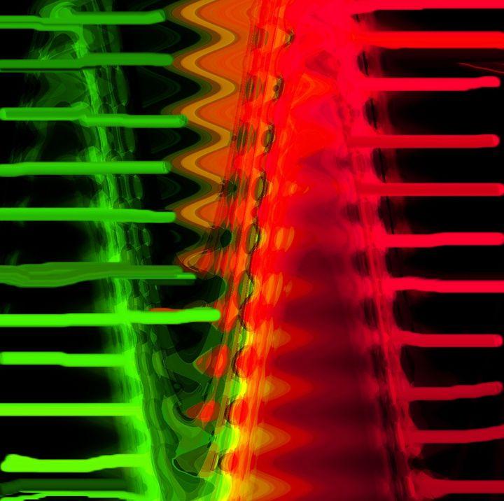 Lights in the city nr 269 - Rene art