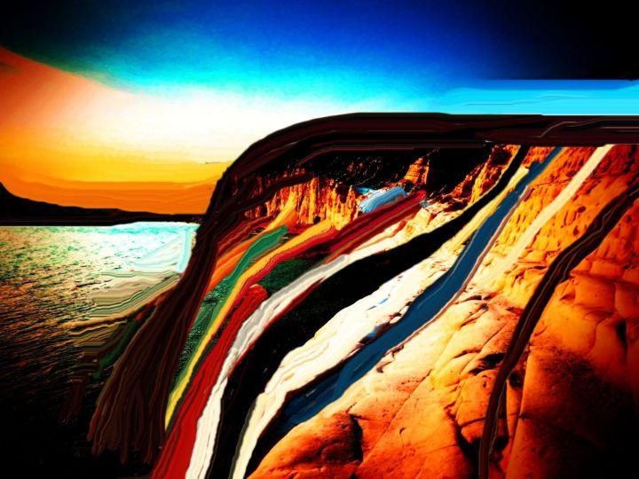 Pancake mountain - Rene art