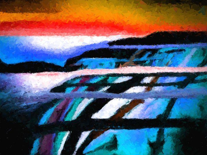 Blue Donau - Rene art