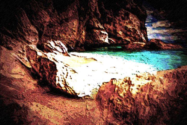 The Greek beach nr 98 - Rene art