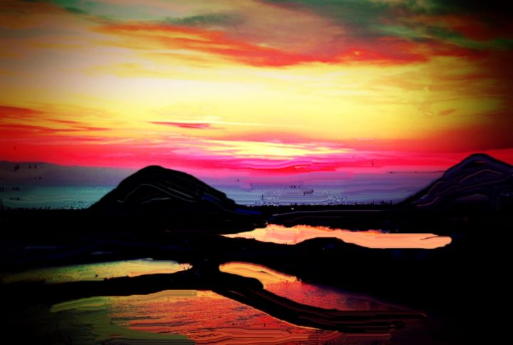 Santorini nr 250 - Rene art