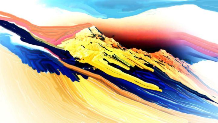 Austrian alps nr 10 - Rene art