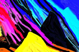 Colors in the mountains no 49