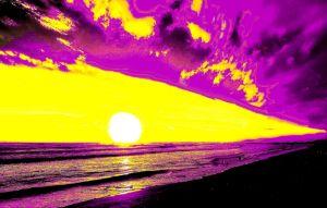 Baltic sunset no 7