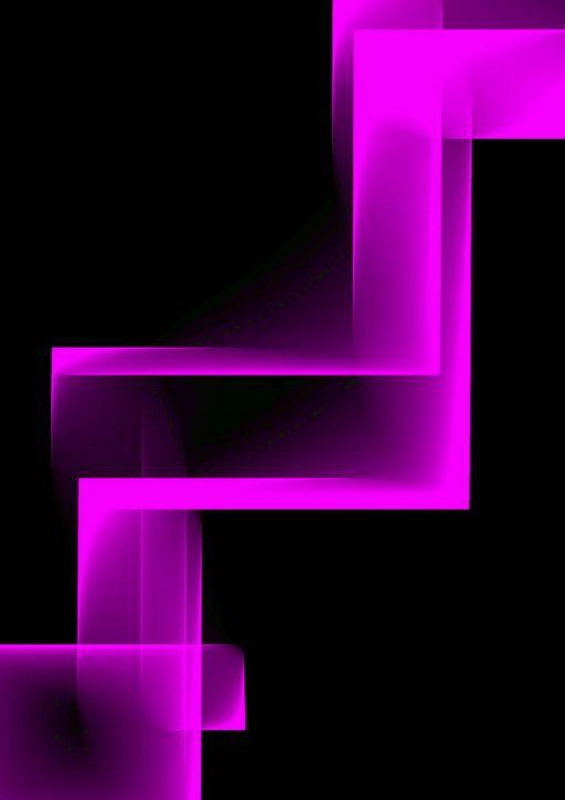 purple chair - Rene art