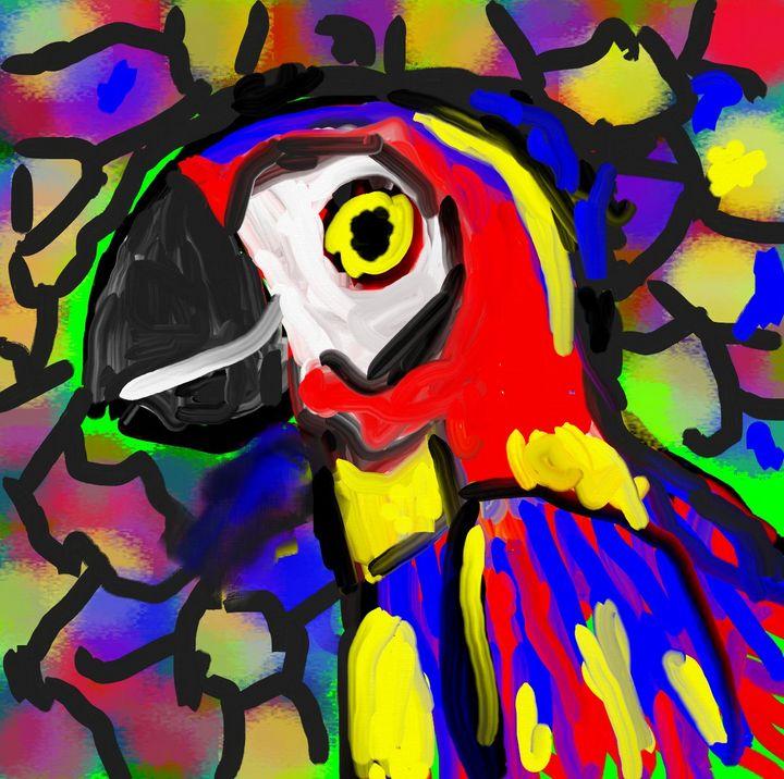 Parrot nr 7 - Rene art