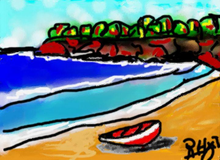 Kenepa beach - Rene art