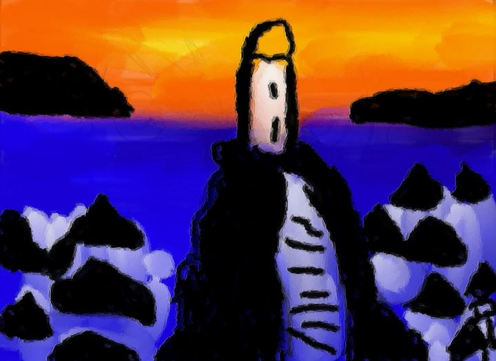 The lighthouse - Rene art