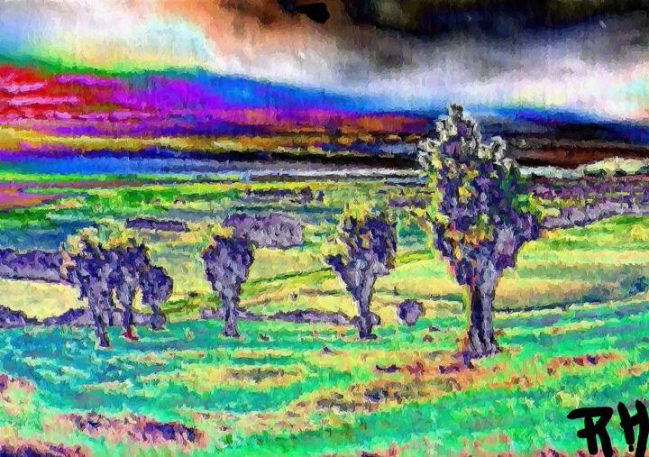 Abstract landscape nr 5 - Rene art