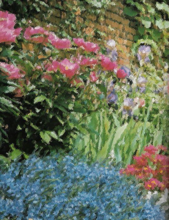 The garden nr 8 - Rene art